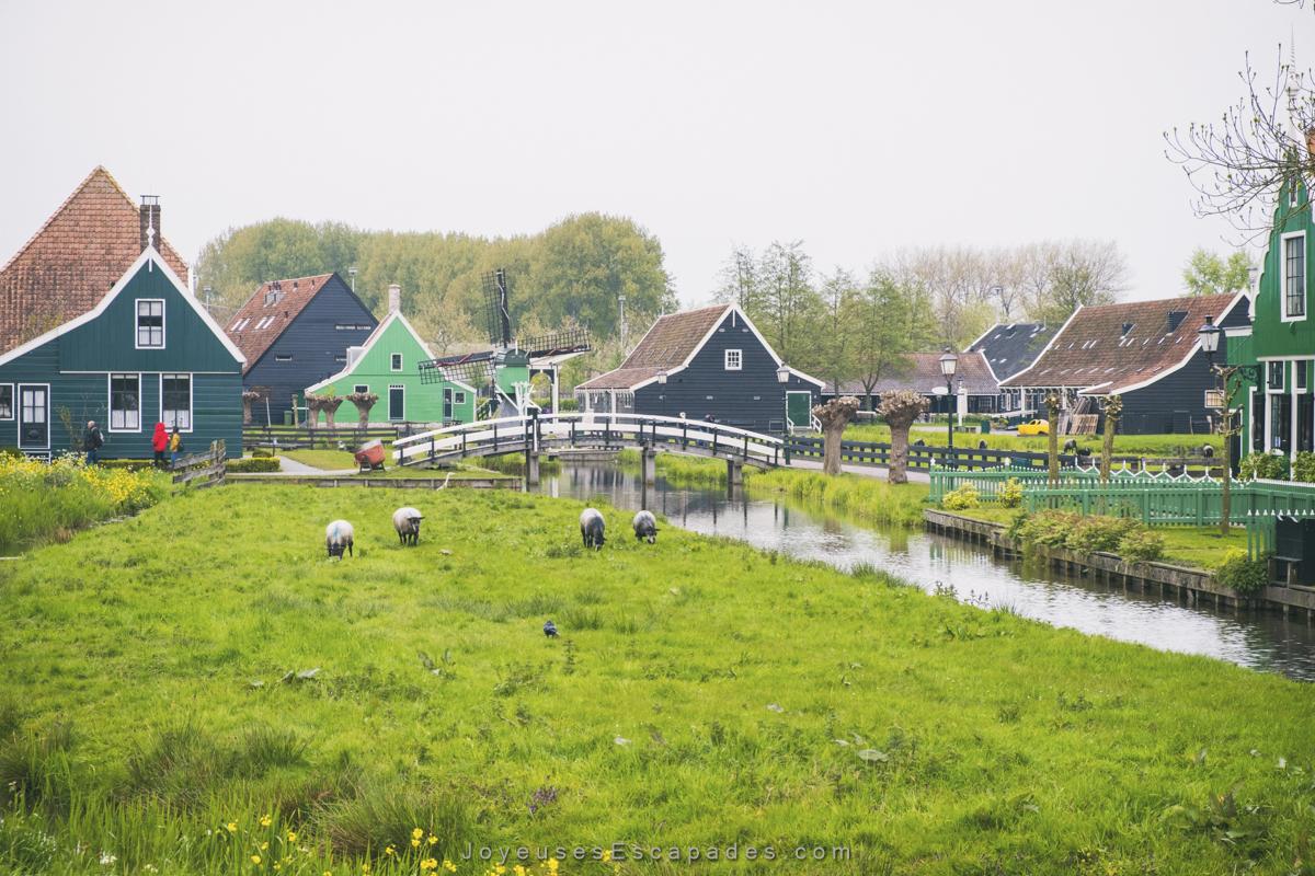 Le joli village de Marken